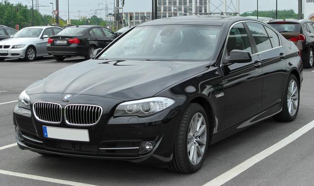 BMW F10, BMW F10 5 series , F10 5 series , немецкий автомобиль , iDrive
