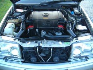 Mercedes W124 техническое обслуживание