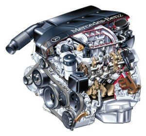 Двигатель M112 , Mercedes , Двигатели Mercedes, Mercedes W124 , Mercedes W210