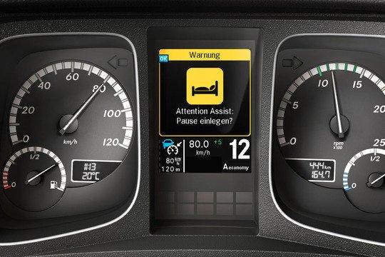 Системы безопасности Mercedes, Proximity Control Assist , Lane Keeping Assist , Roll Control Assist , Attention Assist