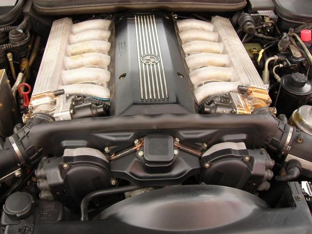 M70B50 , M70B50 V12 , Мотор M70B50