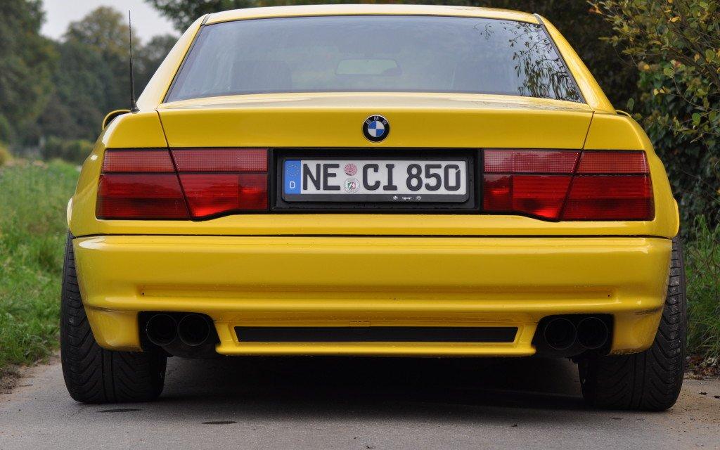 bmw e 31 rear