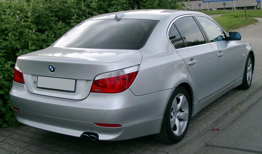 BMW_E60_rear