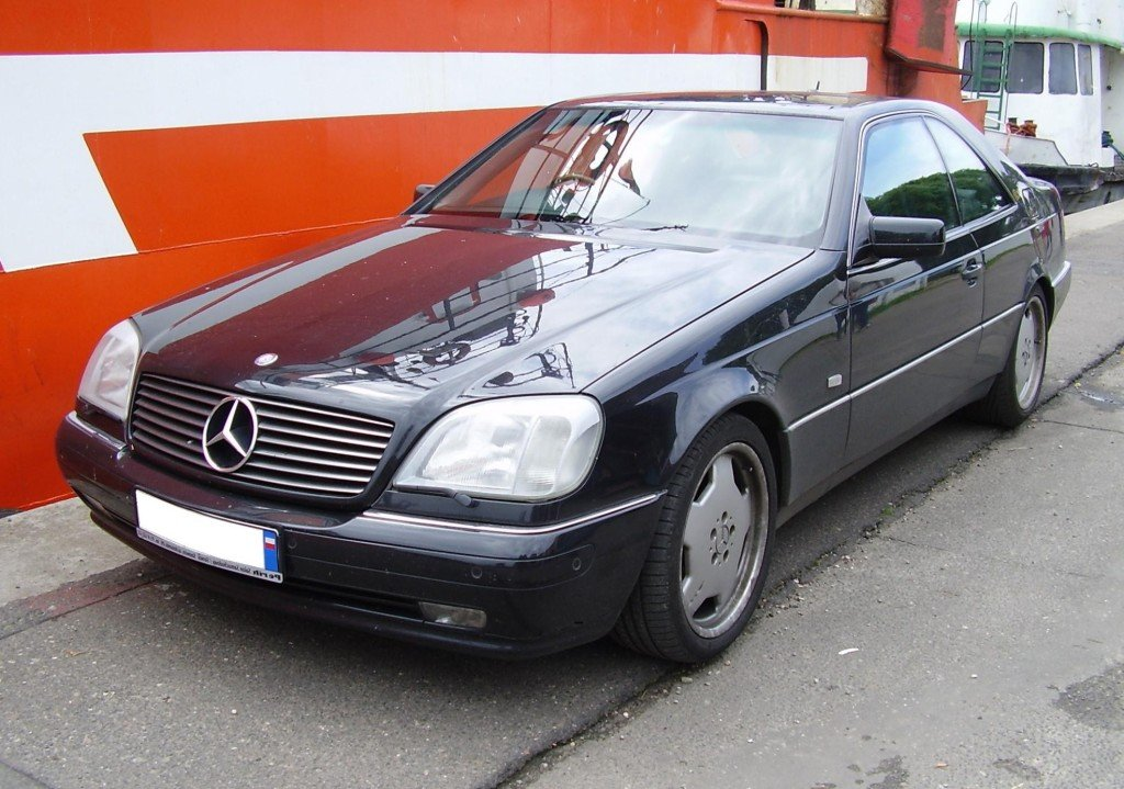 Mercedes W 140 coupe JPG