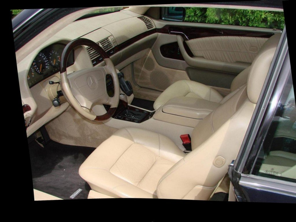 Mercedes w140 salon
