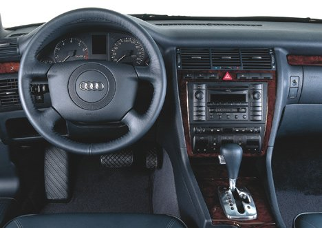 Здесь Вы узнаете о автомобиле представительского класса по цене Лады Приоры. О Audi A8 D2.