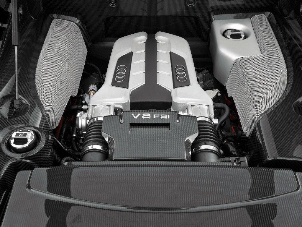 Audi R8/Motorraum