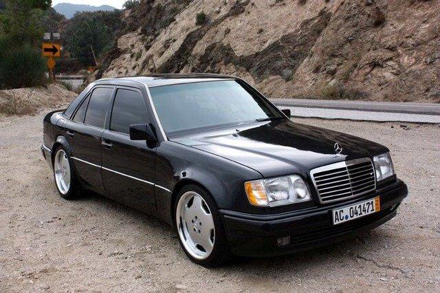 W124 E500 , немецкий автомобиль , W124
