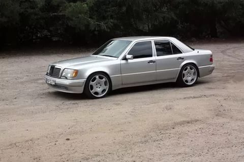 Mercedes W124 E500 , W124 , Немецкий автомобиль