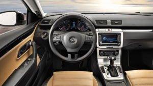 Volkswagen Passat CC, VW Passat CC , немецкие автомобили, Салон VW Passat CC