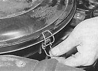 Mercedes Benz W124, как снять карбюратор