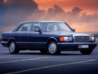 Mercedes W126 ,W126 , Mercedes W126 история , Двигатели W126