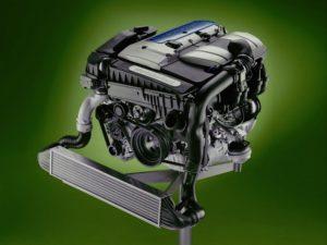 Двигатель M111 Kompressor,характеристики,Eaton,Компрессор