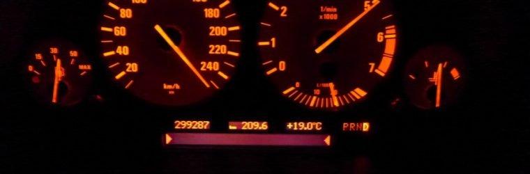 ускорение до максимальной скорости, спидометр