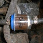 Замена топливного фильтра
