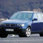 BMW X3 E83 Обзор технические характеристики и цены